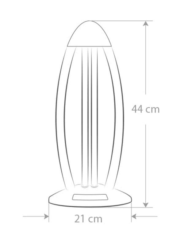 lámpara de desinfección ultravioleta - lámpara con luz germicida